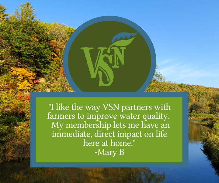 Quote in support of VSN membership