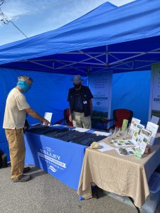 Valley Stewardship Network Booth at Farmers Market