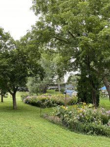 Krier two native planting garden plots